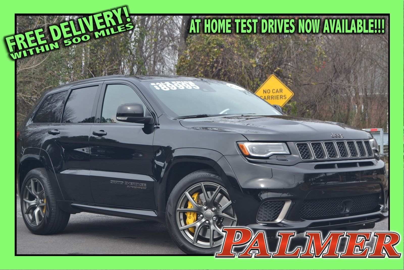 Pre-Owned 2020 Jeep Grand Cherokee Trackhawk