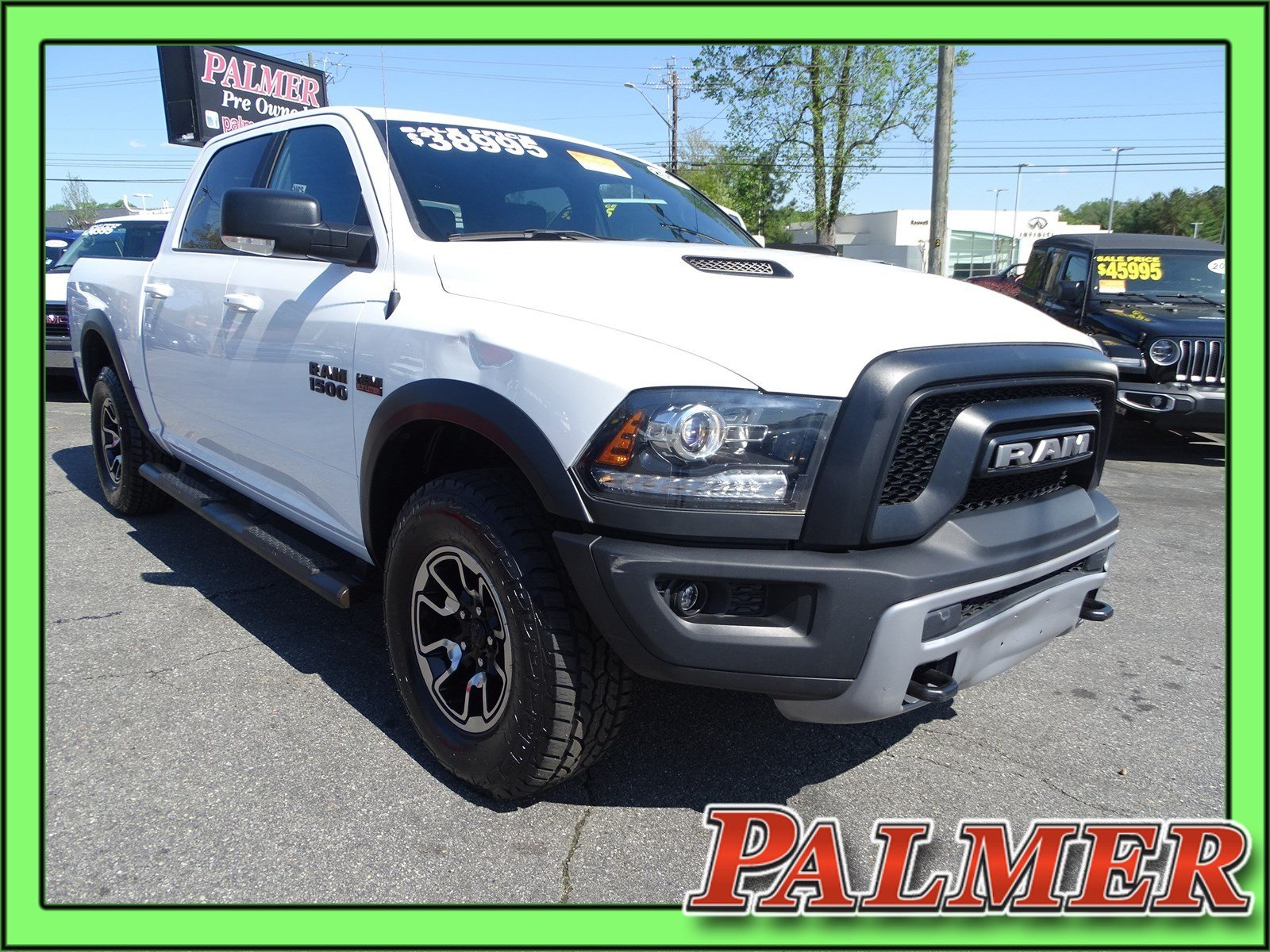 Certified Pre-Owned 2017 Ram 1500 Rebel