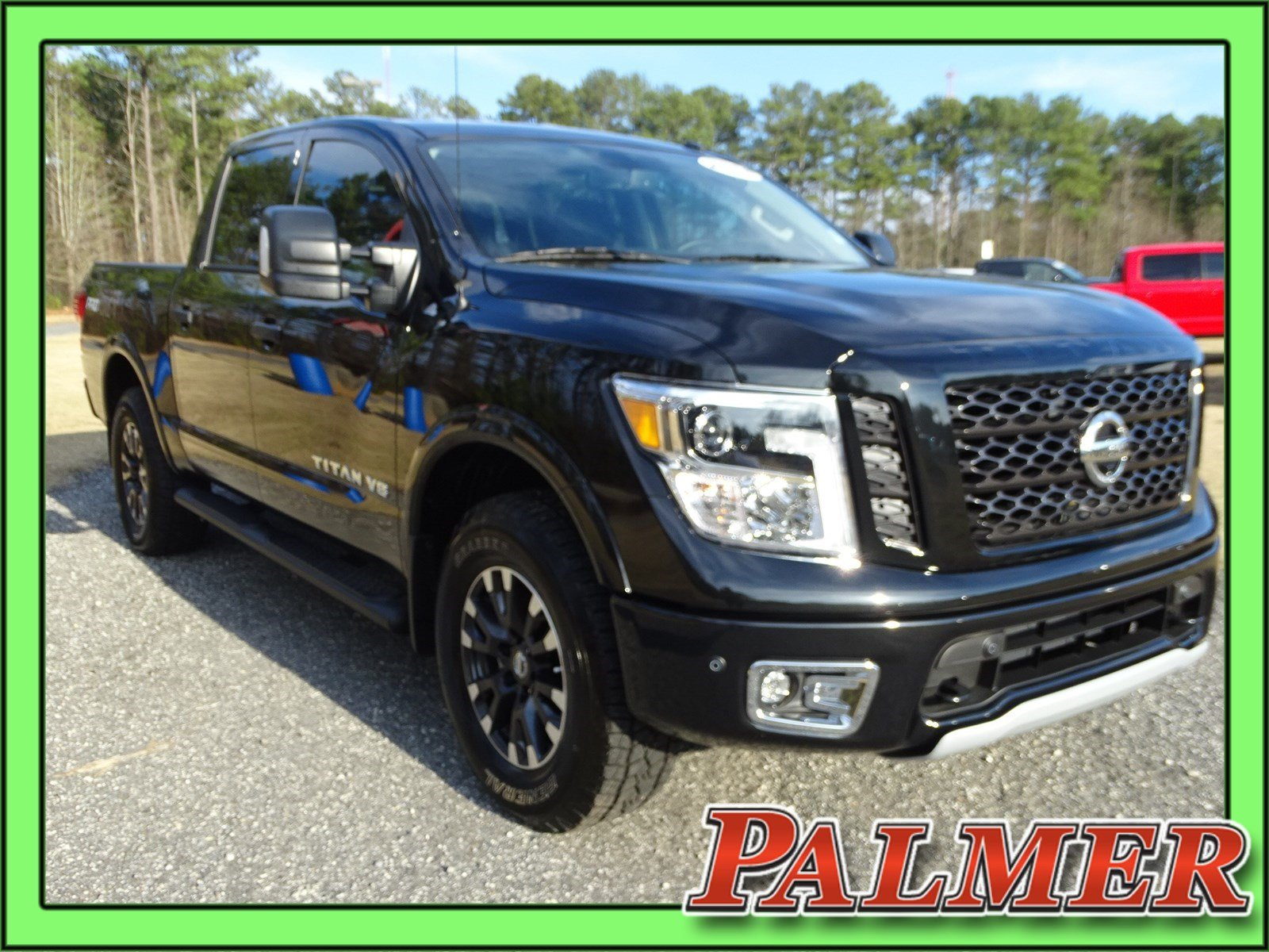 Pre Owned 2018 Nissan Titan 4d Crew Cab In Roswell 31546a Palmer