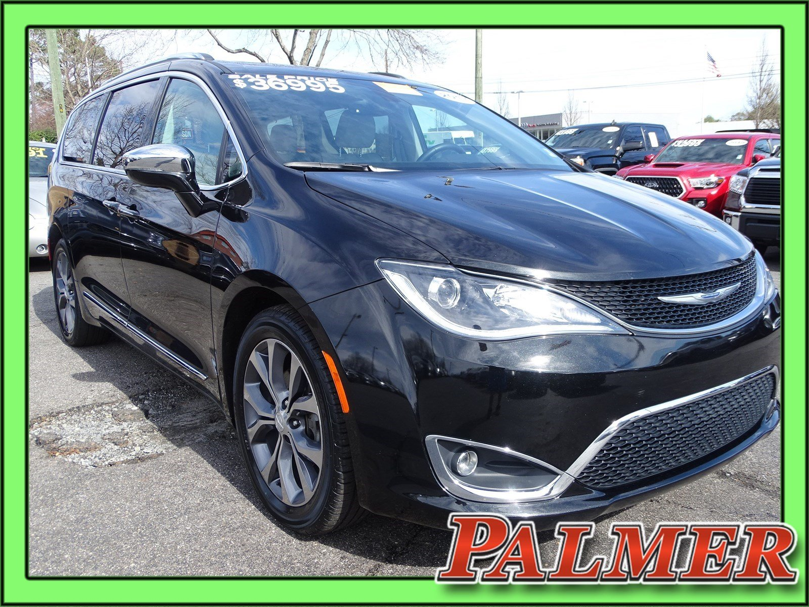 Certified Pre Owned 2017 Chrysler Pacifica Limited