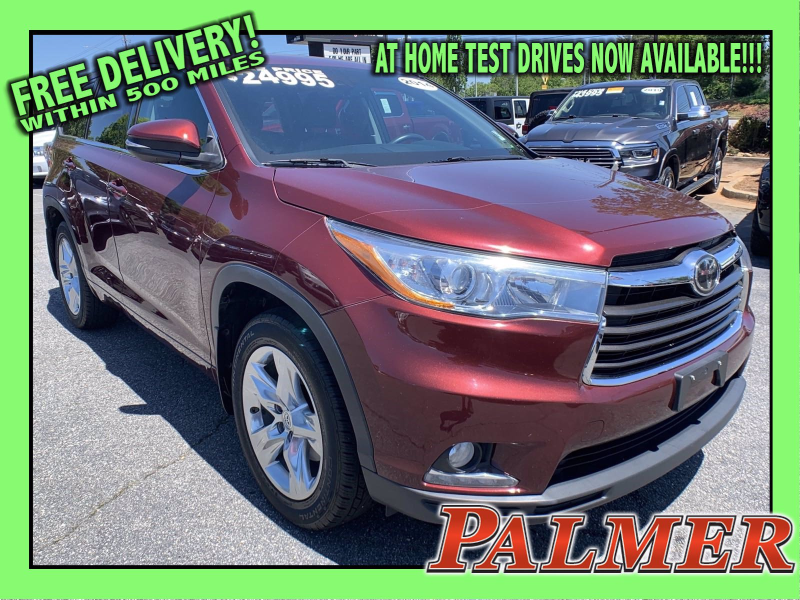 Pre-Owned 2014 Toyota Highlander Limited Platinum V6