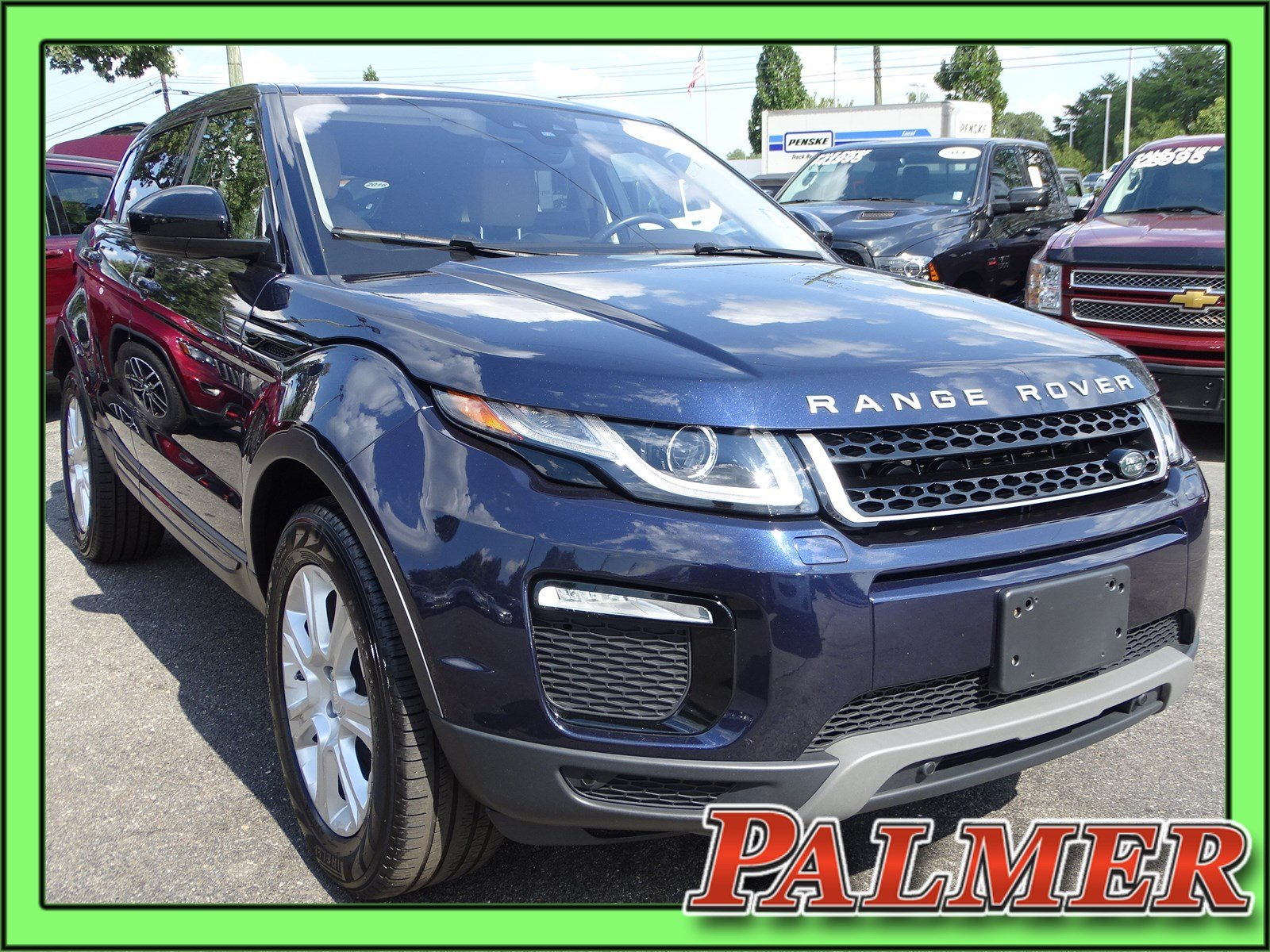 Pre Owned 2016 Land Rover Range Evoque Se Premium