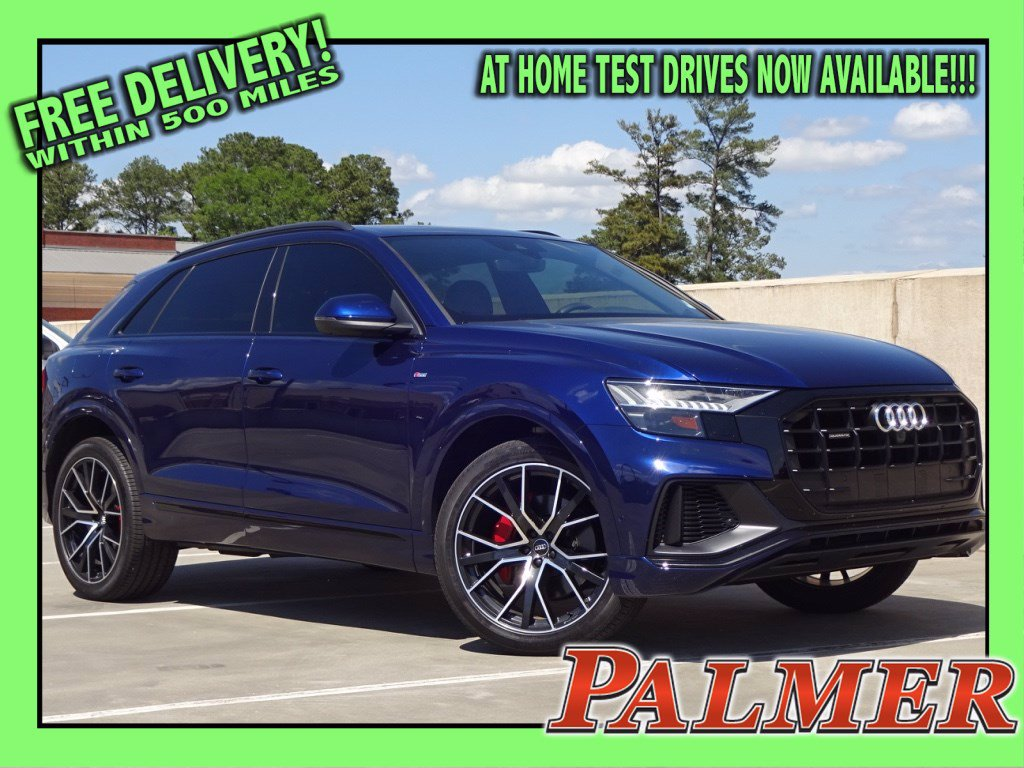 Pre-Owned 2019 Audi Q8 3.0T Premium Plus