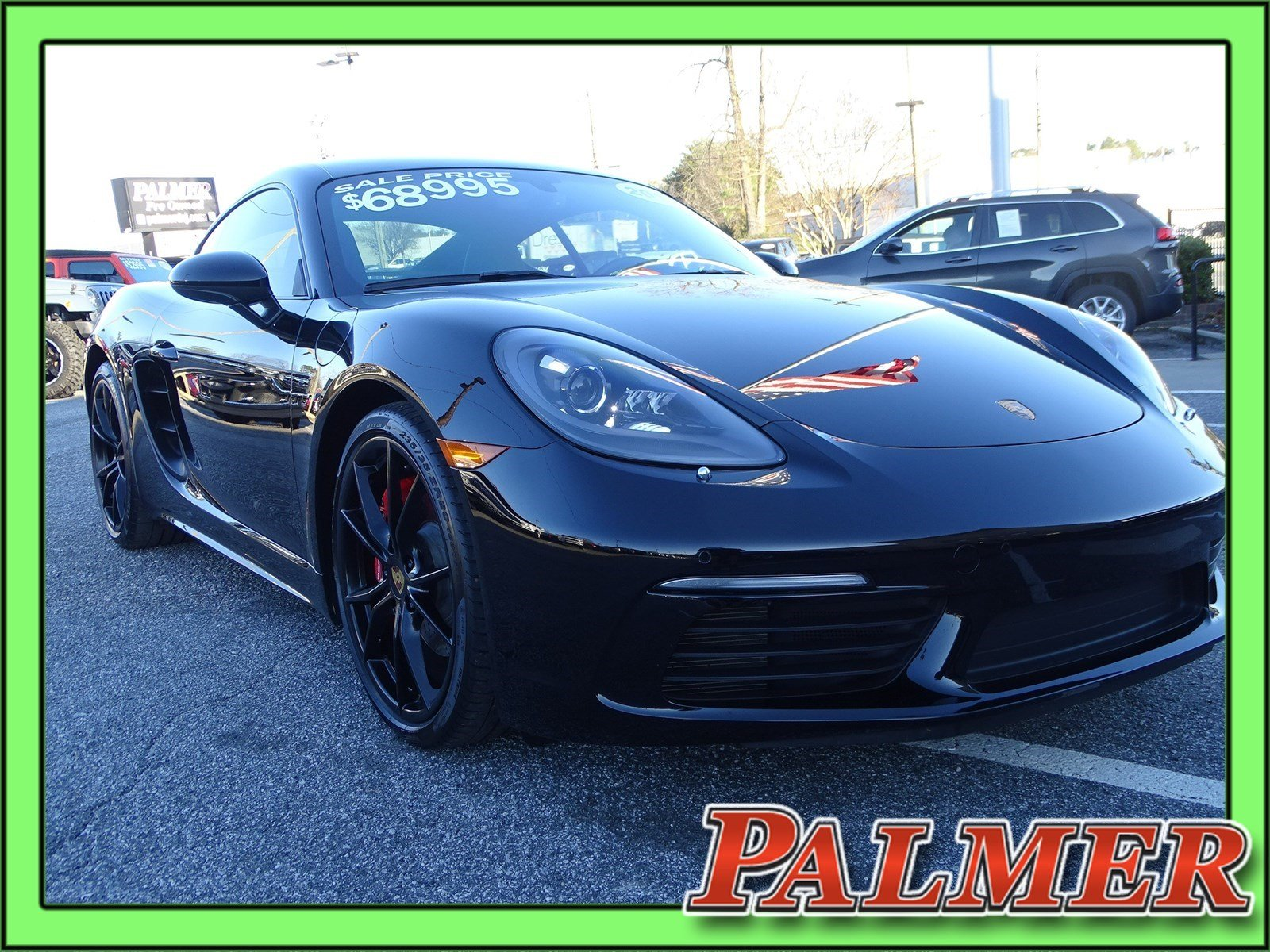 pre-owned 2017 porsche 718 cayman s 2d coupe in roswell #p9804a