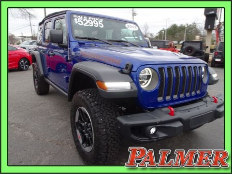 Certified Pre-Owned 2018 Jeep Wrangler Unlimited Rubicon