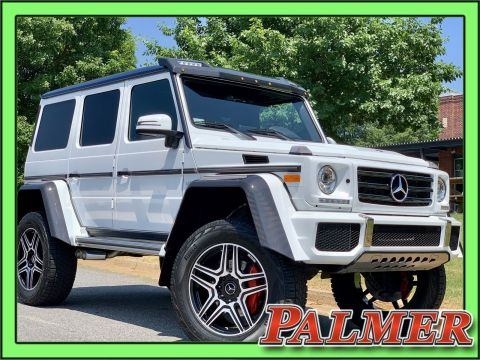 Pre-Owned 2018 Mercedes-Benz G-Class G 550 Squared